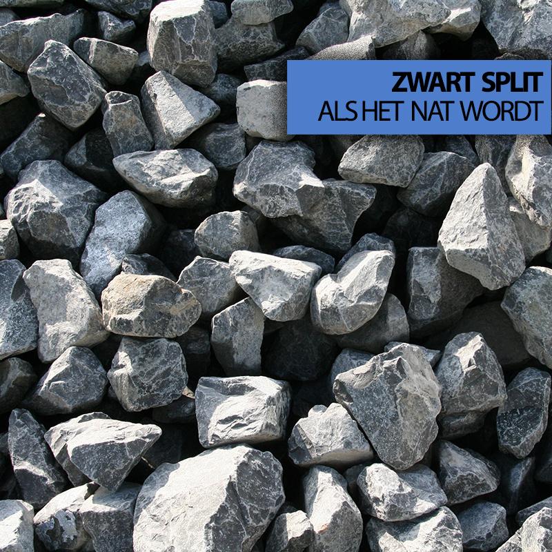 zwart grind basalt